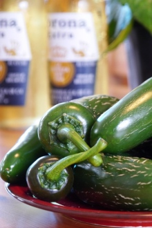 Jalapenos and Beer