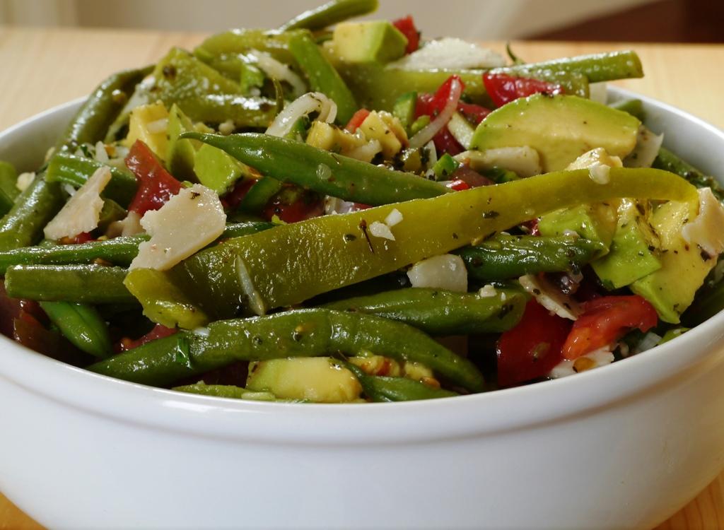 Green Chilli and Green Bean Salad