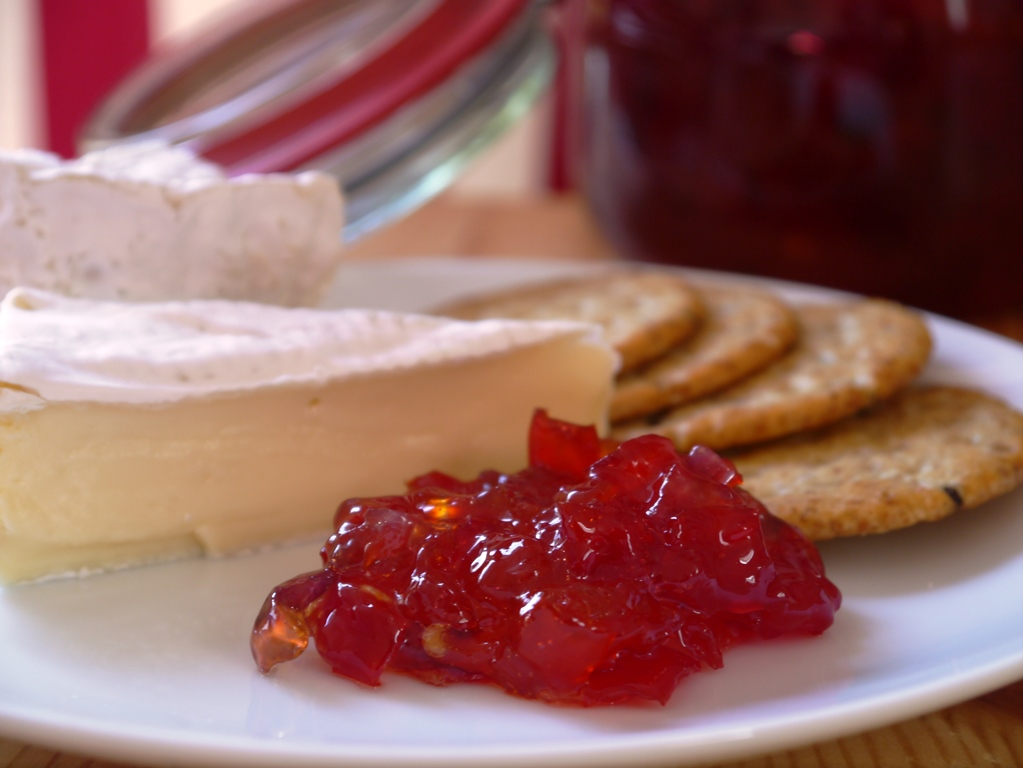 Chilli Jam - From the book 'Cooking Chillies'
