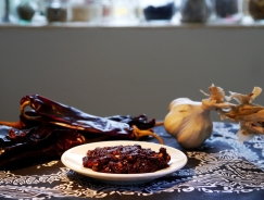 Harissa Paste - From the book 'Cooking Chillies'