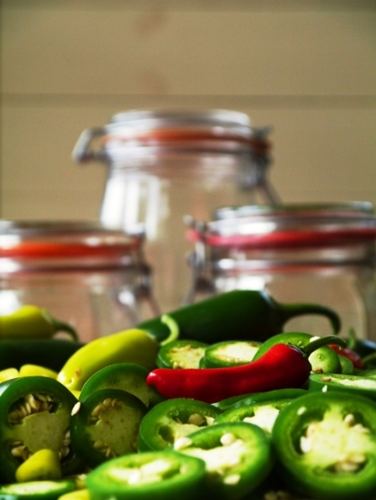 Pickling Chillies - From the book 'Cooking Chillies'