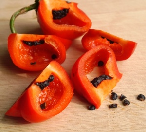 Rocoto Red Sliced